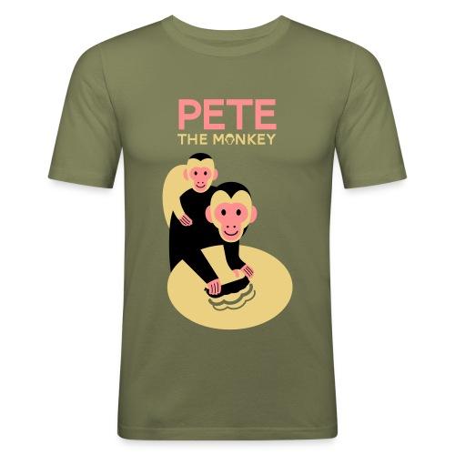 petefondblanc - Men's Slim Fit T-Shirt