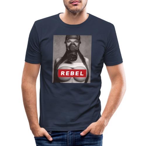 postapocalyptic rebel - Männer Slim Fit T-Shirt