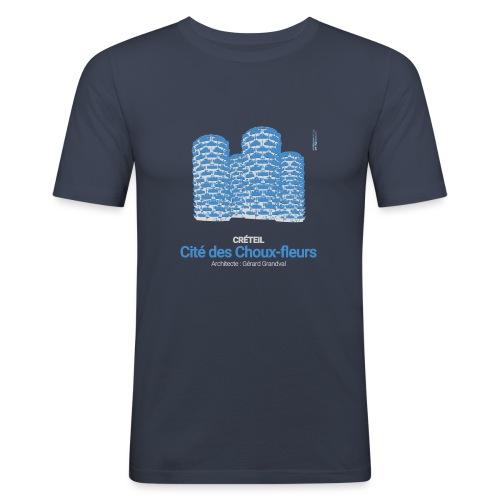 ArchitectureVintage - Les Choux - T-shirt près du corps Homme