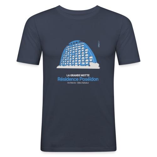 ArchitectureVintage - Résidence Poséïdon - T-shirt près du corps Homme