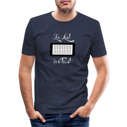 Led - T-shirt près du corps Homme