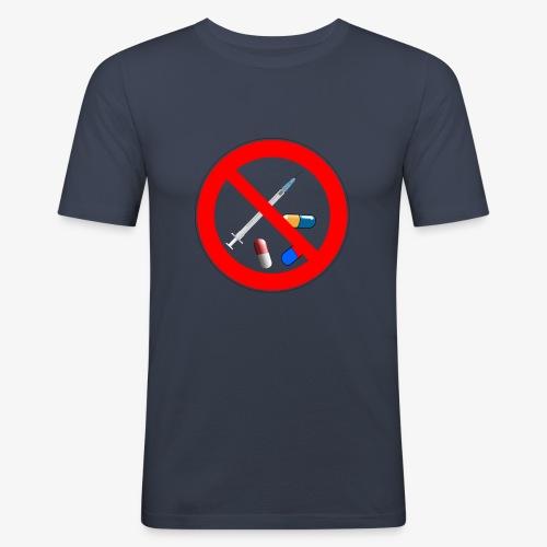 Drug free - T-shirt près du corps Homme