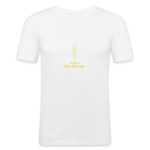 LedSS text png - Slim Fit T-shirt herr