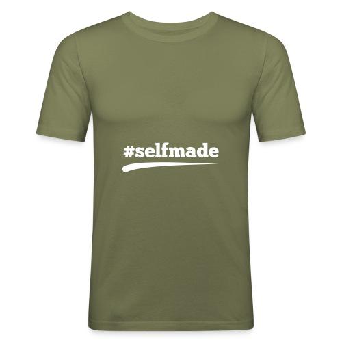 #SELFMADE - Männer Slim Fit T-Shirt