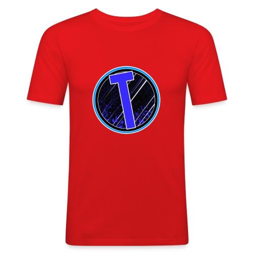 Truxer Old Logo Transparent - Men's Slim Fit T-Shirt