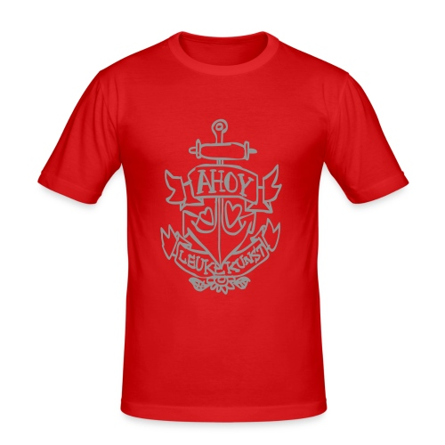 Ahoy! - Mannen slim fit T-shirt