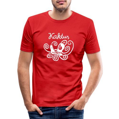 Kaktus und Kalamarie - Männer Slim Fit T-Shirt