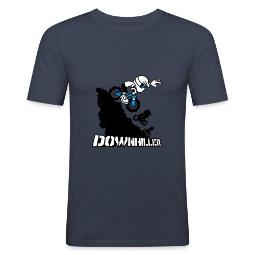 Downhiller - Männer Slim Fit T-Shirt