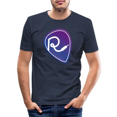 Logo Color - Maglietta aderente da uomo