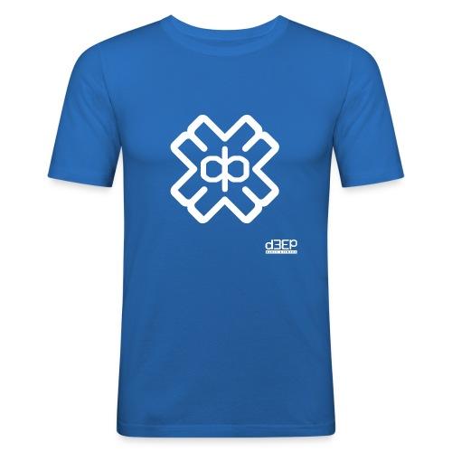 July D3EP Blue Tee - Men's Slim Fit T-Shirt