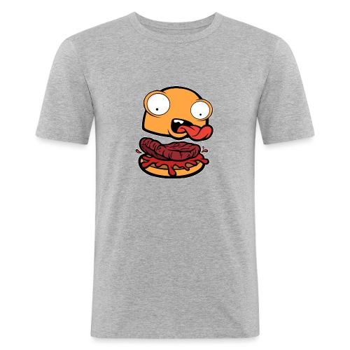 Crazy Burger - Camiseta ajustada hombre