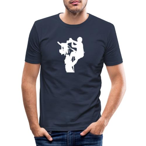 Baumpfleger Arborist - Männer Slim Fit T-Shirt