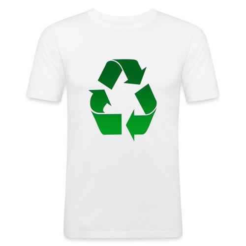 Recyclage - T-shirt près du corps Homme