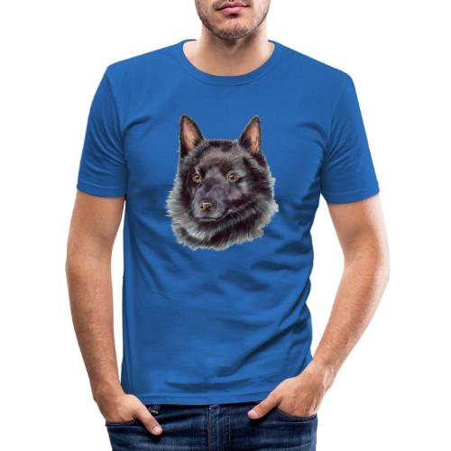 schipperke - M - Herre Slim Fit T-Shirt