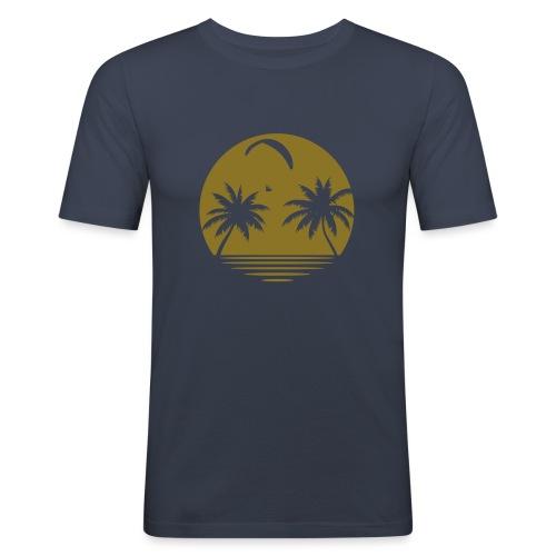 Paragliding Beach - Männer Slim Fit T-Shirt