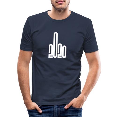 2020 - Fuck you! - Slim Fit T-shirt herr