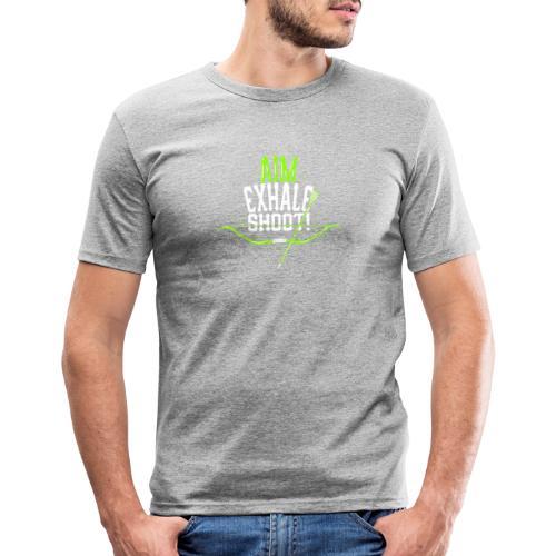 Bogenschütze - Männer Slim Fit T-Shirt