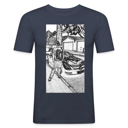 Glücks `Ritter - Männer Slim Fit T-Shirt
