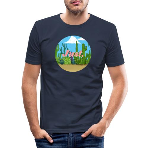 Just. Cactus - T-shirt près du corps Homme