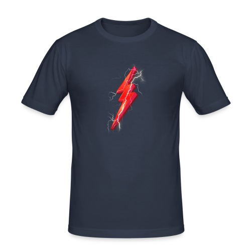 Flash2G Official Merch - Men's Slim Fit T-Shirt