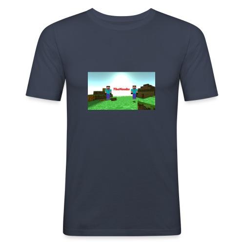 banner - Slim Fit T-skjorte for menn