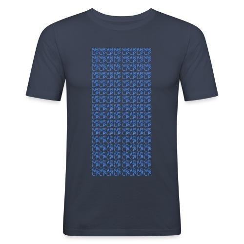 DEEVY Help Design - Men's Slim Fit T-Shirt