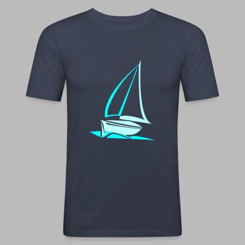 segelyacht - Männer Slim Fit T-Shirt