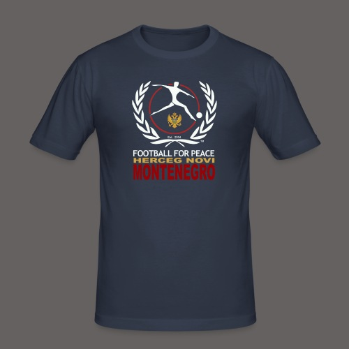 football for peace New Lo - Men's Slim Fit T-Shirt