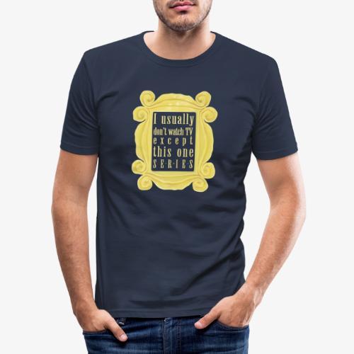dla tych co lubią serial(e) - Obcisła koszulka męska
