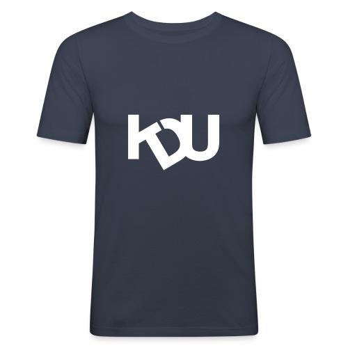 kdu vit - Slim Fit T-shirt herr