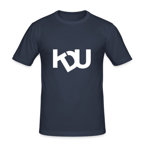 kdu vit - Slim Fit T-shirt herr