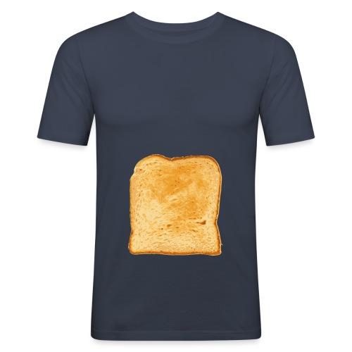 bread 1300348 1280 png - Männer Slim Fit T-Shirt