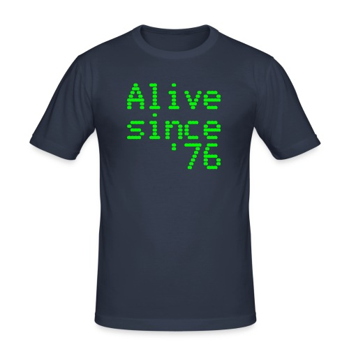 Alive since '76. 40th birthday shirt - Men's Slim Fit T-Shirt