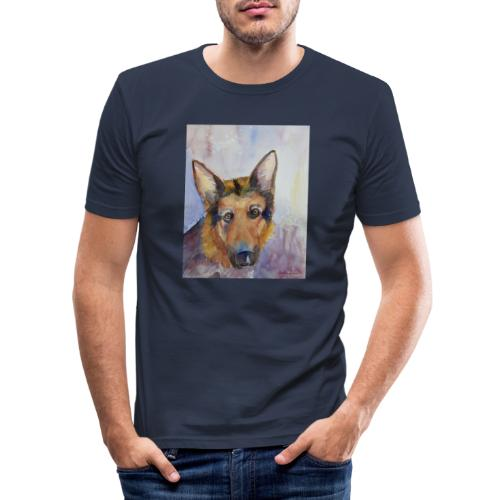 german shepherd wc - Herre Slim Fit T-Shirt