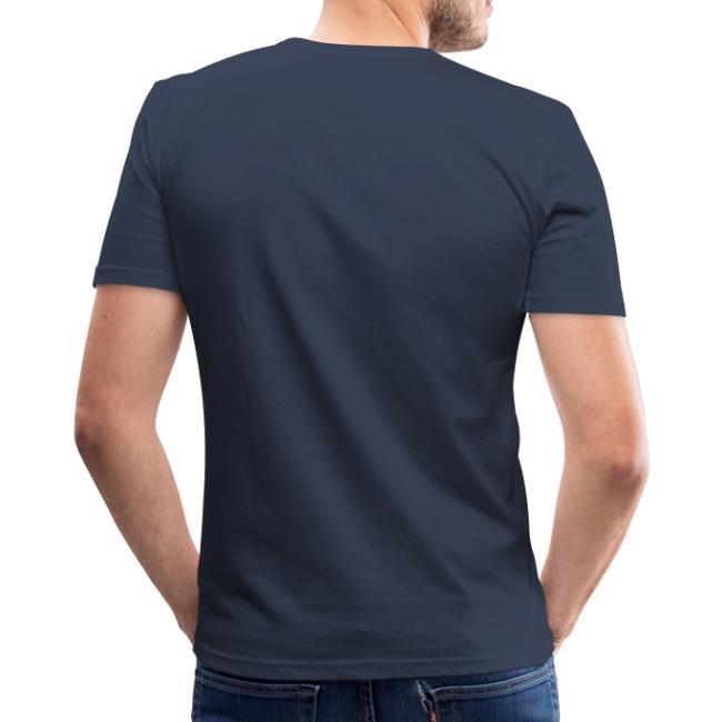 Vorschau: Nua so vü wia mit olla Gwoit einigeht - Männer Slim Fit T-Shirt