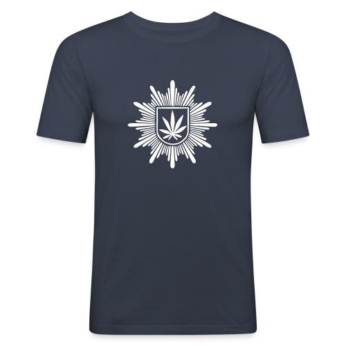 Bundeshanfschutz (pur) - Männer Slim Fit T-Shirt