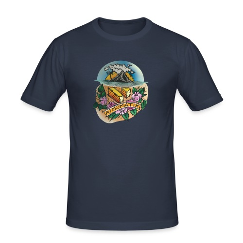 Isle of Atmomatix T-shirt - Men's Slim Fit T-Shirt