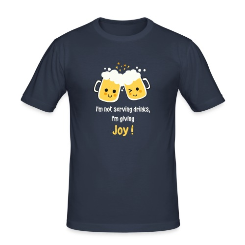 Giving Joy - Men's Slim Fit T-Shirt