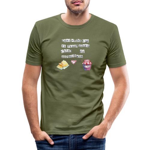 Marmellata - Maglietta aderente da uomo