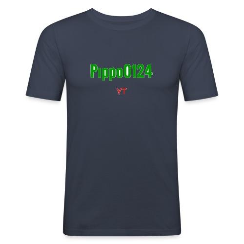Pippo0124 - Maglietta aderente da uomo