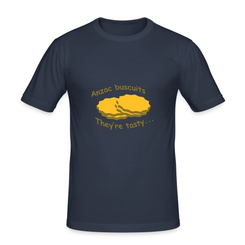 Anzac Biscuits - Men's Slim Fit T-Shirt