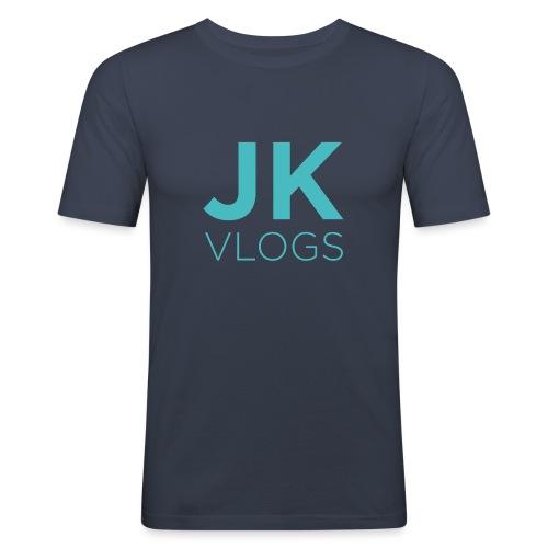 JK Vlogs Logo - Men's Slim Fit T-Shirt