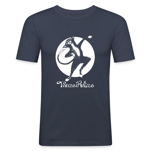 TanzeKatze - Männer Slim Fit T-Shirt