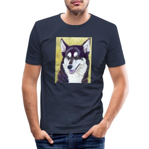 Siberian husky - Herre Slim Fit T-Shirt