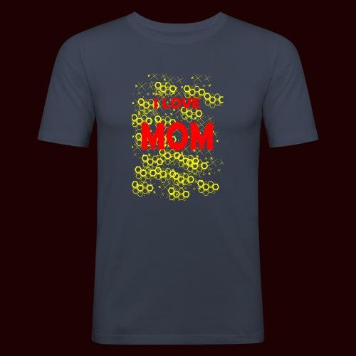 I LOVE MOM - T-shirt près du corps Homme