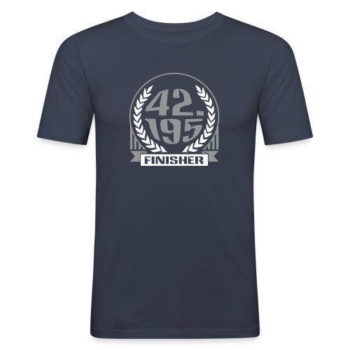 42195 finisher1 - T-shirt près du corps Homme