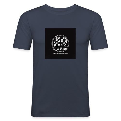 SocialGamingHD merch - Men's Slim Fit T-Shirt