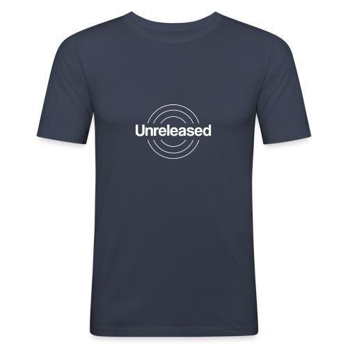 unreleased white - T-shirt près du corps Homme