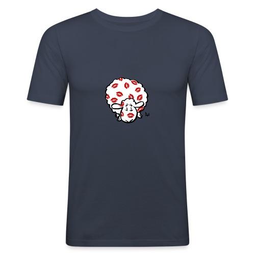 Kiss Ewe - Men's Slim Fit T-Shirt