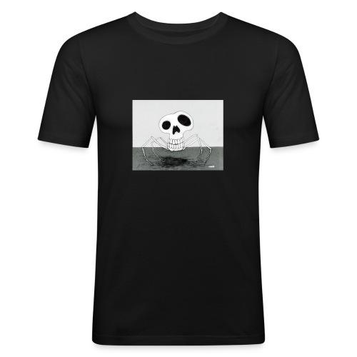 skull spider - Slim Fit T-shirt herr